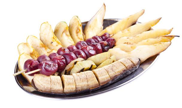 Банан на мангале
