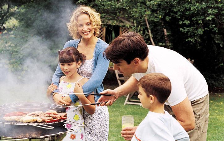 Семейное барбекю