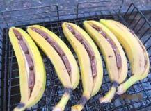 Необычные десерты на мангале