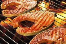 Рецепты на мангале. Рыбная вечеринка.